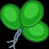 Balloons-green icon