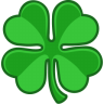 Shamrock-lucky icon