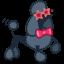 Dog-poodle icon