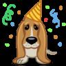 Dog-birthday icon