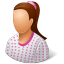 People-Patient-Female icon