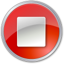Stop-Normal-Red icon