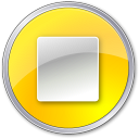Stop-Normal-Yellow icon