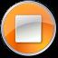 Stop-Normal-Orange icon