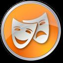 Theater-Yellow icon