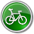 Bicycle-Green icon