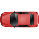 Car-Top-Red icon