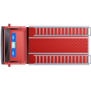 Fire-Truck-Top-Red icon
