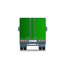 Truck-Back-Green icon
