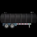 WasteTankerTrailer-Right-Black icon