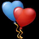 Balloons-Hearts icon