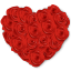 Flowers-Heart-Roses icon