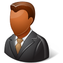 Office-Client-Male-Dark icon