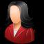 Office-Customer-Female-Light icon