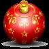 Christmas-tree-ball icon