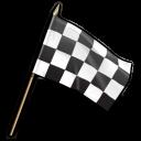 Checkered-flag icon