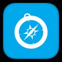 MetroUI-Browser-Safari-Alt icon