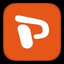 MetroUI-Office-Powerpoint icon