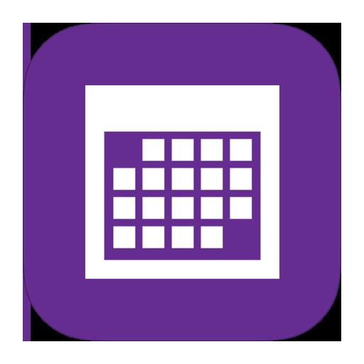 Blank Calendar App Icon : Metroui ปพลิเคชันไอคอนปฏิทิน ico png icns ไอคอนฟรีดาวน์โหลด