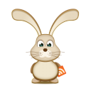 Easter-Bunny-RSS icon