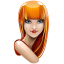 Browser-girl-firefox icon