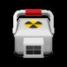 Medical-radioactive icon