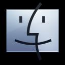 Finder-graphite icon