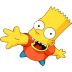 Bart-Simpson-05-Greeting icon