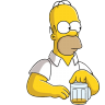 Homer-Simpson-03-Beer icon