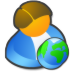 User-network icon
