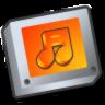 Folder-sound icon