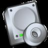 Harddrive-cdrom icon