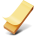 Yellow-sticker icon