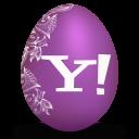 Yahoo-white icon