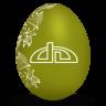 Deviantart-white icon
