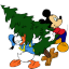 Mickey-Mouse-Donald-Christmas icon