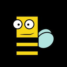 Abelha, ícone - ico,png,icns,Ícones download