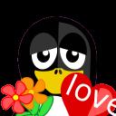 Valentine-Tux icon