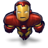 Comics-Ironman-Flying icon