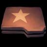 Folder-Brown-Star icon