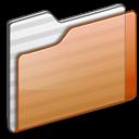 Folder-orange icon