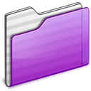 Folder-purple icon