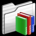 Library-Folder-white icon