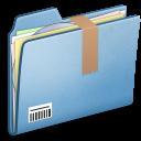 Blue-Download-alt icon