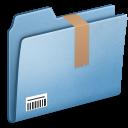 Blue-Downloads icon