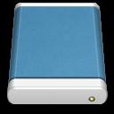 Blue-External-Drive icon