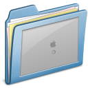 Blue-Login icon