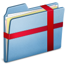 Blue-Package icon