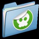 Blue-Sticker icon