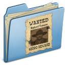 Blue-WANTED icon